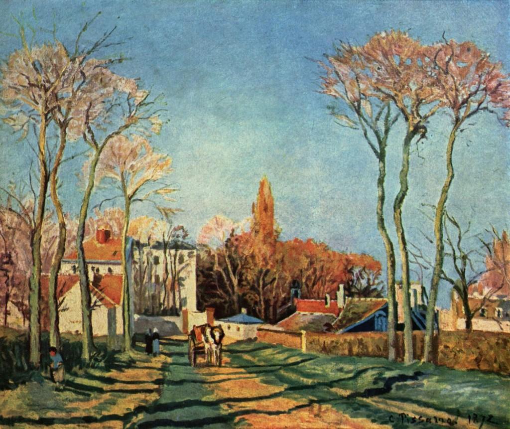 Entrada a Voisins, 1872 (Fuente: Wikipedia)