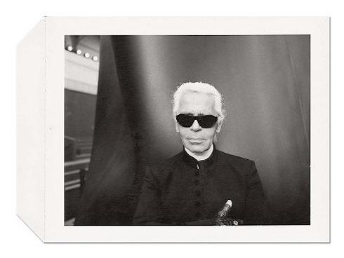 Polaroid de Karl Lagerfeld