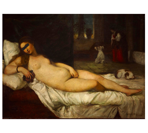 Hans-Peter Feldman | Old painting..., 2005 | Pintura